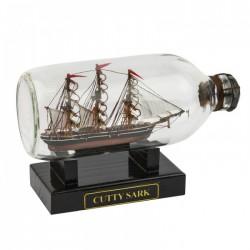 Flessenschip Cutty Sark - 19 cm