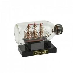 Flaschenschiff Cutty Sark - 14 cm