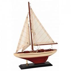 Zeilboot America`s cup mini