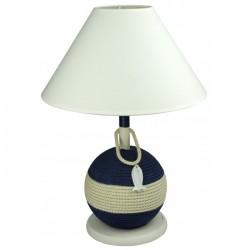 Lamp op touwfender - 54 cm