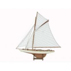 Zeilboot America wit/naturel - 79 / 110 cm