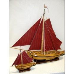 Segelboot Botter - 16 / 24 / 34 / 50 cm