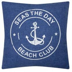 Pillow - Seas the Day - 40 x 40 cm - Denim style