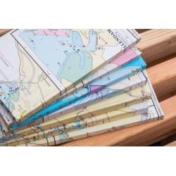 Carnet (Carte de l'eau NL) - A5 - 200 feuilles - lignées