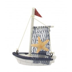 Vissersboot met zeester (laatste stuks)