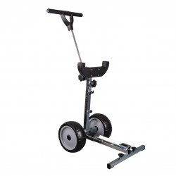 Hors-bord chariot pliable