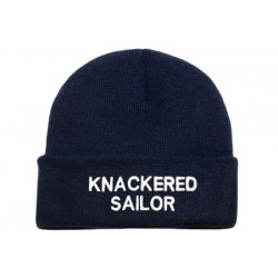 Beanie Navy - Knackered Sailor