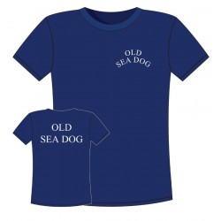 T-shirt Navy - Old Sea Dog