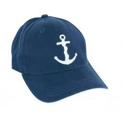 Cap - Anker - blau