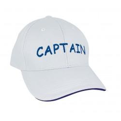 Cap - Captain - Weiß