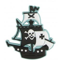 Aimant bateau pirate en caoutchouc