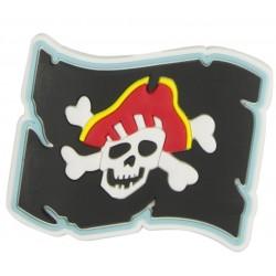 Aimant pirate drapeau en caoutchouc