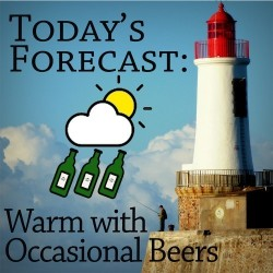Ansichtkaart - Today's Forecast...