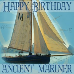 Postkarte Salty Saying - Happy Birthday...