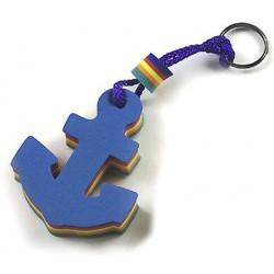 Porte-clés ancre flottante