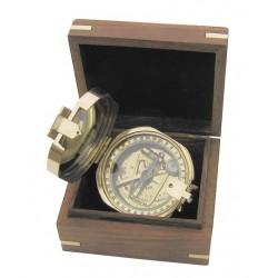 Brunton kompas in kist