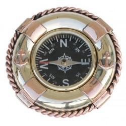 Kompass im Rettungsboje