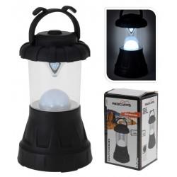 Camping Lantern black with 11 led