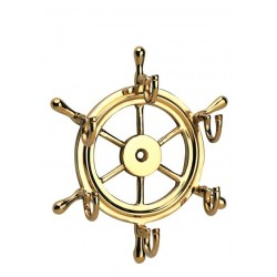 Key rack steering wheel