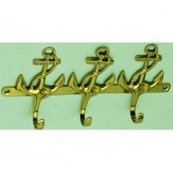 Coat rack 3 anchors