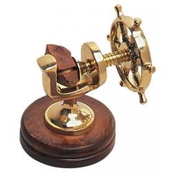 Nutcracker steering wheel brass