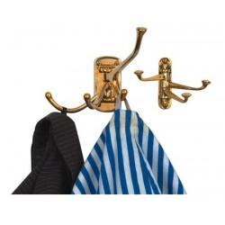Coat rack hook 4 bent arms