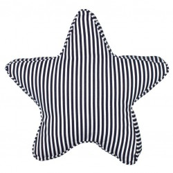 Kussen Blauw Wit.Kussen Ster Strepen Blauw Wit Nautic Gifts