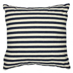 Pillow stripes square blue