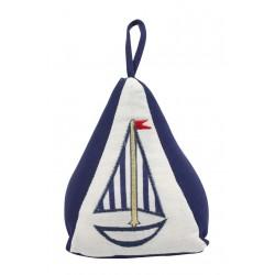 Deurstopper zeilboot pyramide