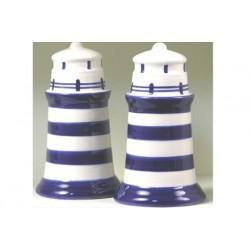Salz und Pfeffer-set Keramik Leuchtturm