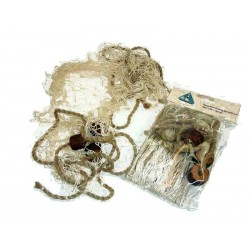 Dekoration Fischernetz mit Korken
