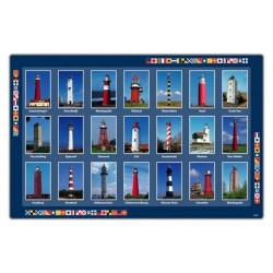 Placemat NL lighthouse