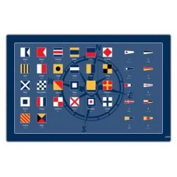 Placemat Seinvlaggen