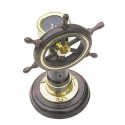 Stuurwiel kompas op standaard