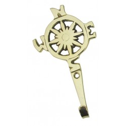 Hook with compass rose