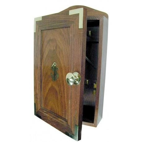 Key Cabinet Wood