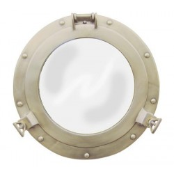 Mirror porthole brass antique