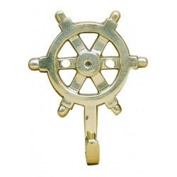 Hook steering wheel brass