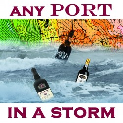 Ansichtkaart Salty Saying Any Port…