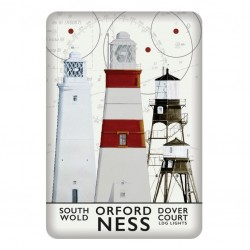 Magnet British Isles lighthouses  8 x 5.5 cm