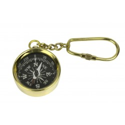 Keychain brass HMS Victory Compass