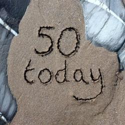 Ansichtkaart 40 Today - Sand