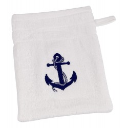 Washcloth anchor