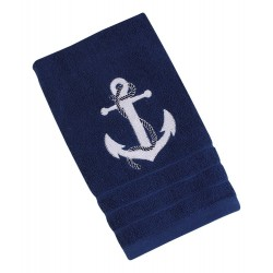 Guests cloth blue with white anchor
