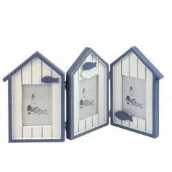 Photo frame Beach Huts