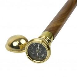 Spazierstock mit Kompass