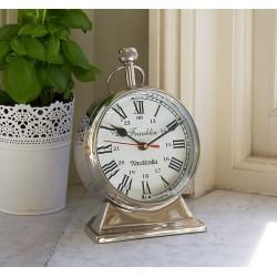 Clock Franklin Chrome