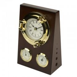 Schreibtisch set, Uhr & Thermometer & hygrometer