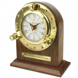 Horloge de bureau hublot