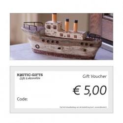 Geschenkgutschein €5